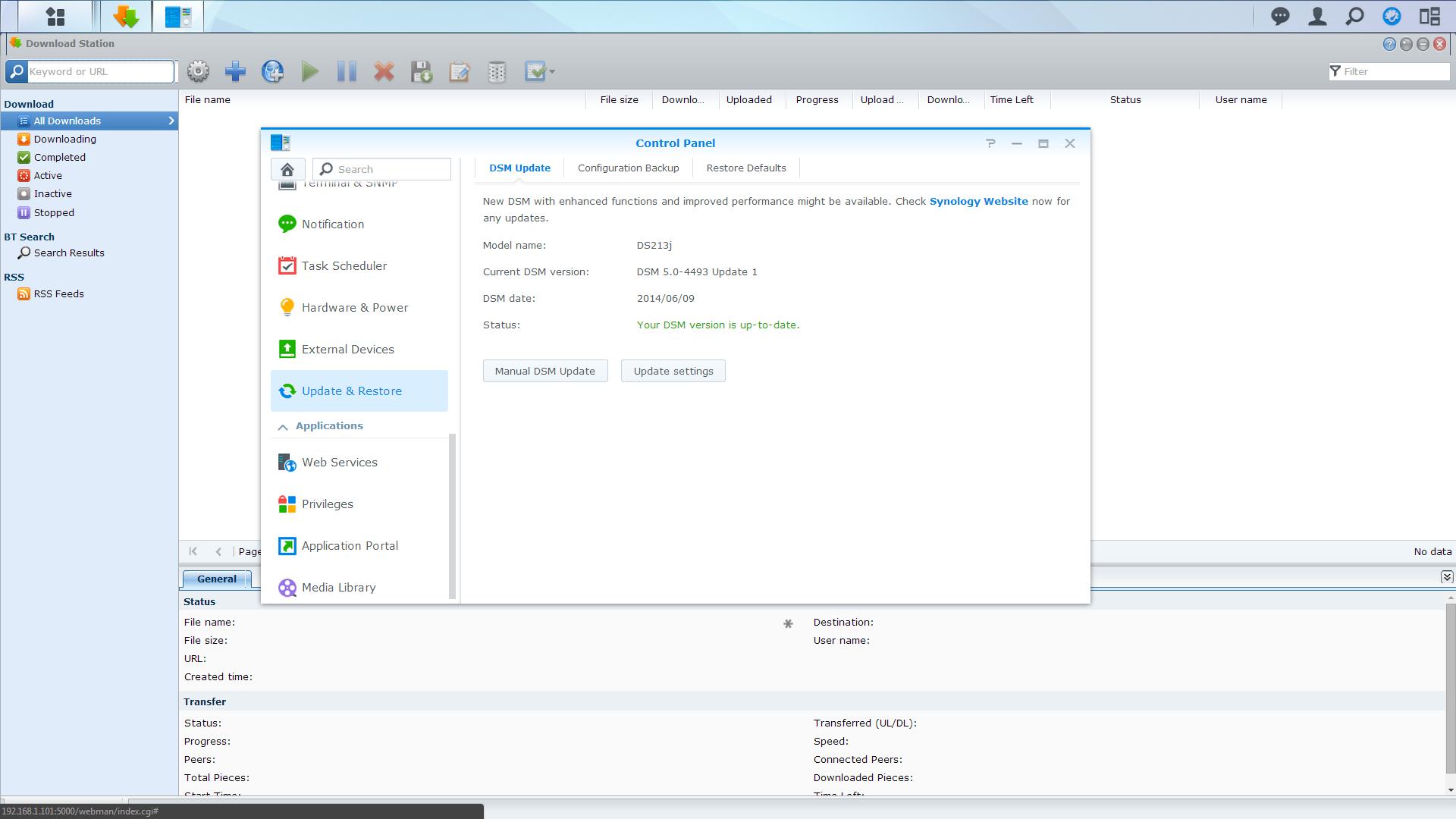 DownloadStation Tutorial 1