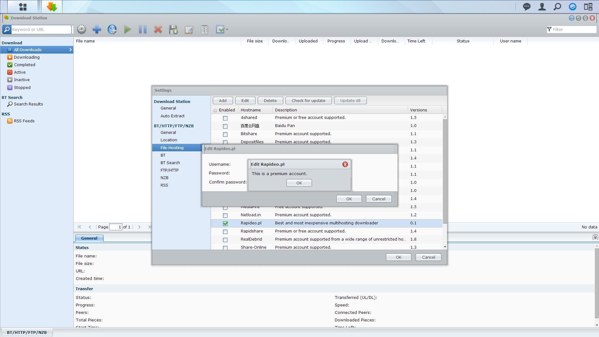 DownloadStation Tutorial 5