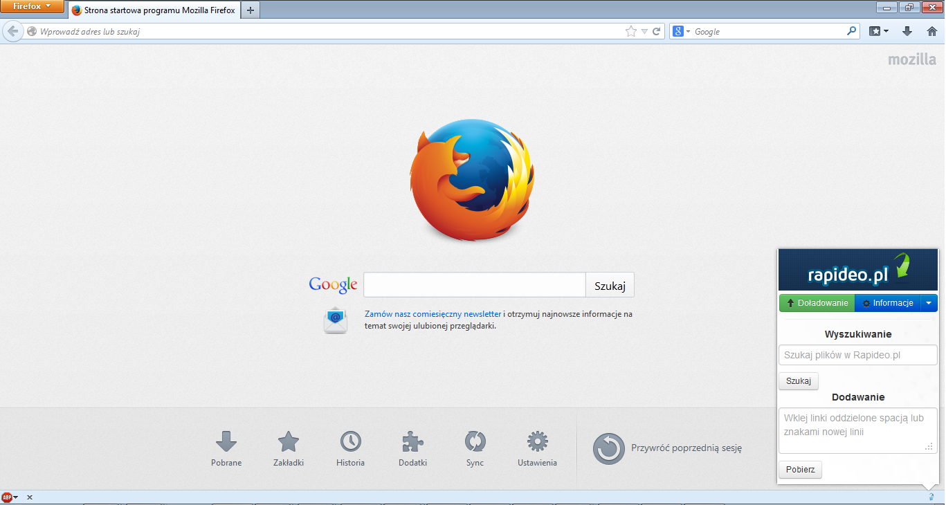 Firefox Tutorial 1