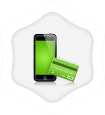 Bank transfer, credit card