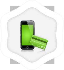 Bank transfer, credit card
